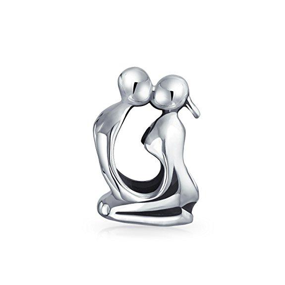 Pandora Kissing Couple Love Charm