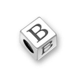 Pandora Letter B on Dice Charm