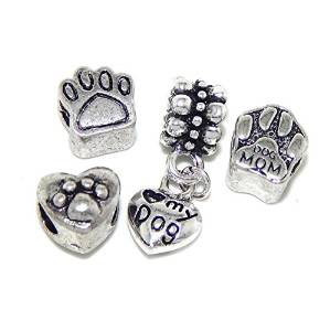 Pandora Love My Dog Set of 4 Charm