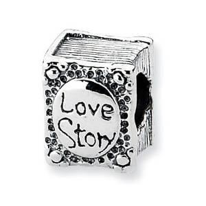 Pandora Love Story Book Charm