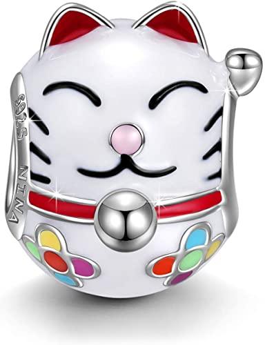Pandora Lovely Kitty Kitten Cat Bead