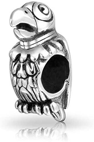 Pandora Macaw Bird Charm