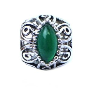 Pandora May Birthstone Green Crystals Floral Charm