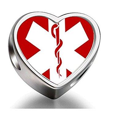 pandora medical alert charm