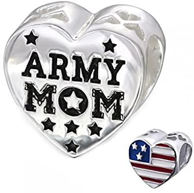 Pandora Military MOM Charm