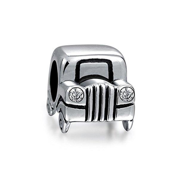 Pandora Mobile Jeep Charm