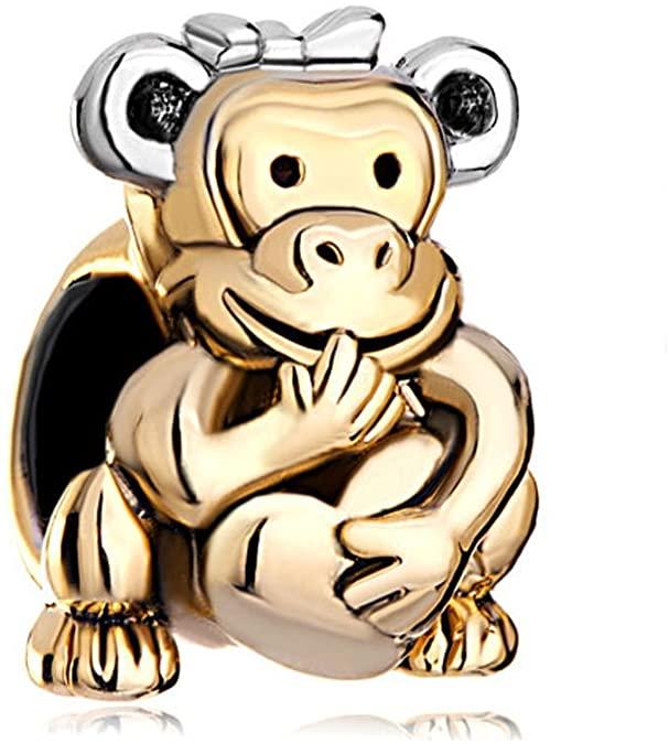Pandora Monkey Love Charm