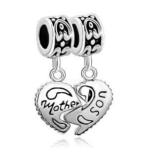 Pandora Mother Child Heart Dangle Charm