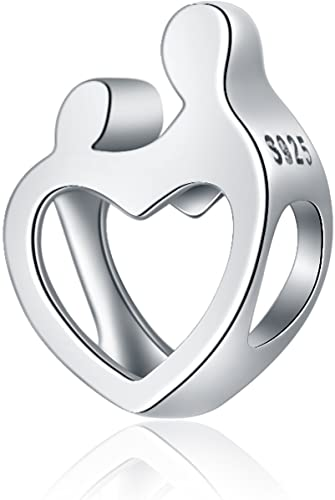 Pandora Mother Child Open Heart Love Charm