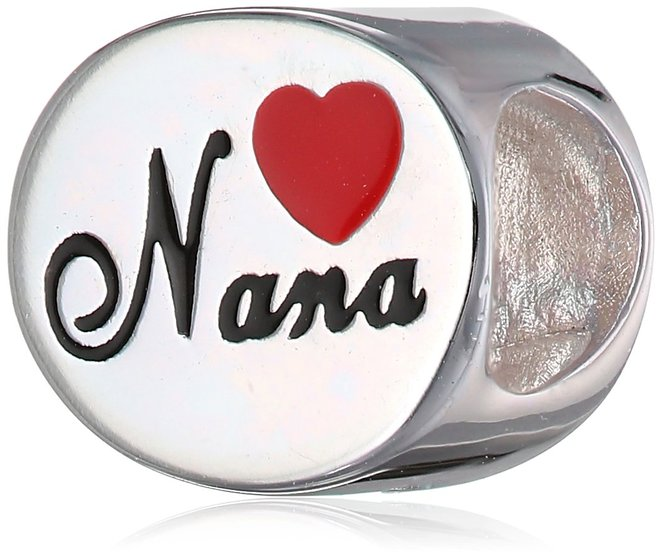 Pandora Nana Red Heart Charm