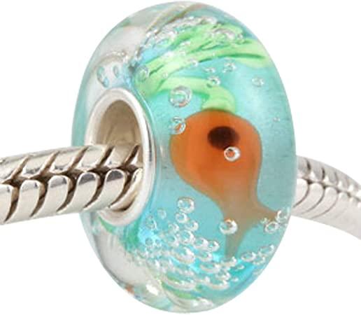 Pandora Nautical Fish Murano Glass Charm