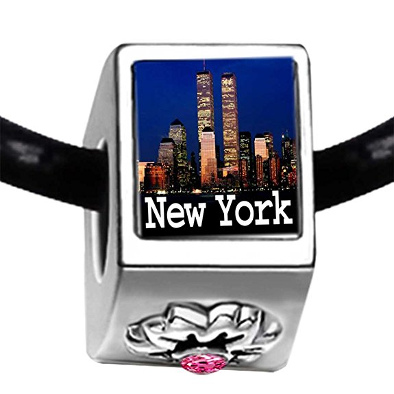 pandora new york city photo charm