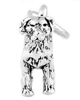 Pandora Nice Cute Standing Dog Charm