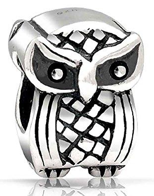 Pandora Owl Halloween Charm