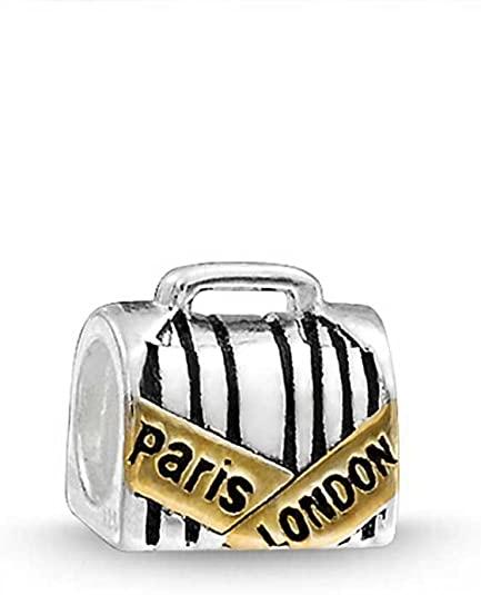 Pandora Paris Suitcase Charm