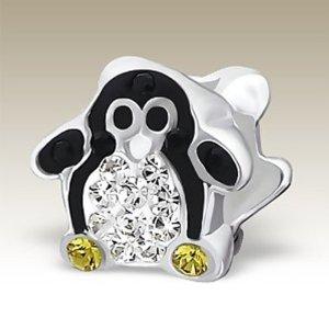 Pandora Penguin Baby Bead