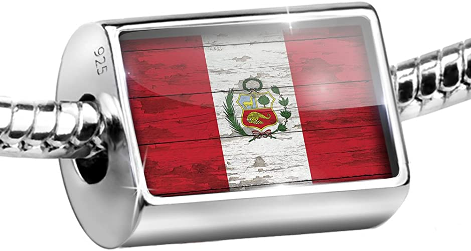 Pandora Peruvian Flag Charm