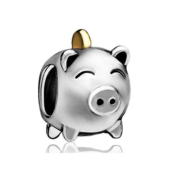 Pandora Pig Money Box Charm