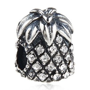 Pandora Pineapple With Pearl Crystals Charm