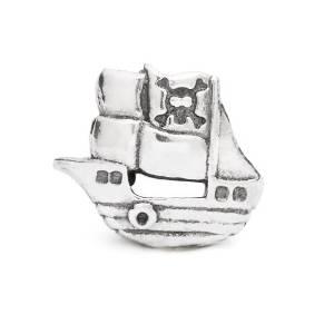 Pandora Pirate Ship Charm