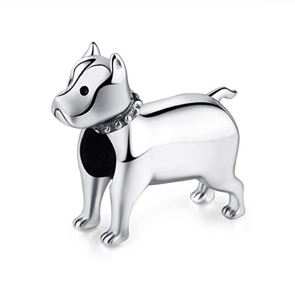Pandora Pitbull Shining Dog Charm
