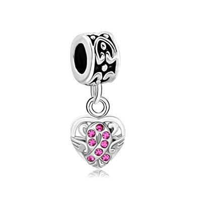 Pandora Pure Pink Swarovski Crystal Charm