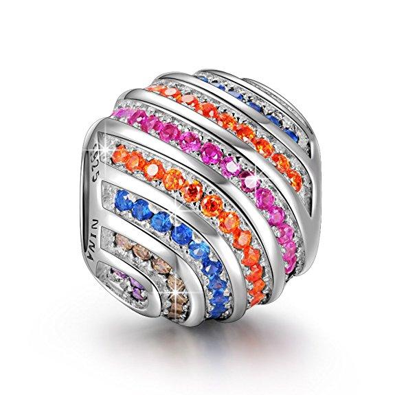 pandora rainbow bead