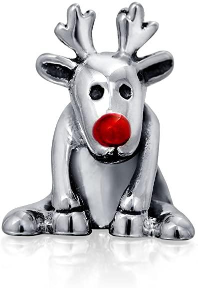 Pandora Rudolph Red Nose Reindeer Charm