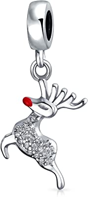 Pandora Rudolph Reindeer Dangle Charm