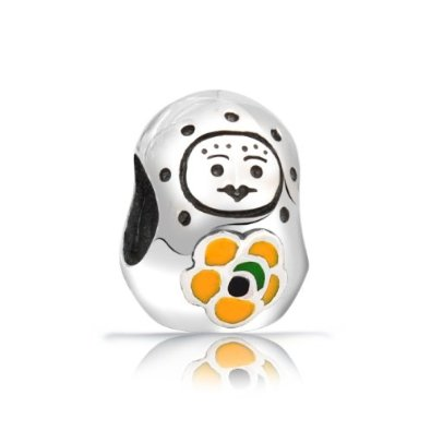 Click Image to Buy This Pandora Russian Babushka Nesting Doll Bead