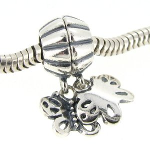 Pandora Separable Butterfly Friends Forever Bead