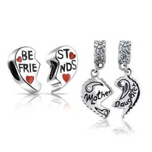 1cfd689c2 Pandora Set Of 2 Best Friends And Mother Daughter Charm | Buy Top ...