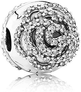 Pandora Shimmering Rose CZ Charm