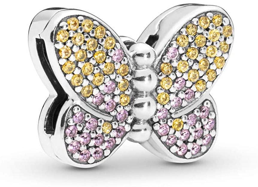 Pandora Shiny Butterfly Charm