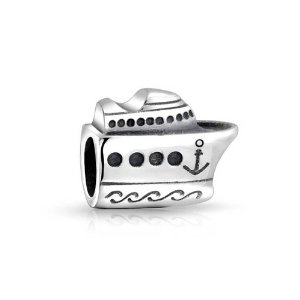 Pandora Ship With Anchor Sign Charm