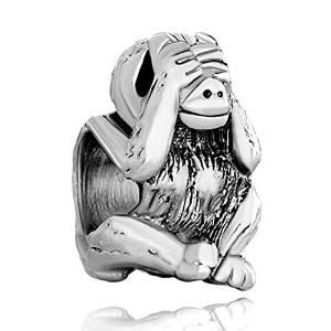 Pandora Shy Monkey Bead
