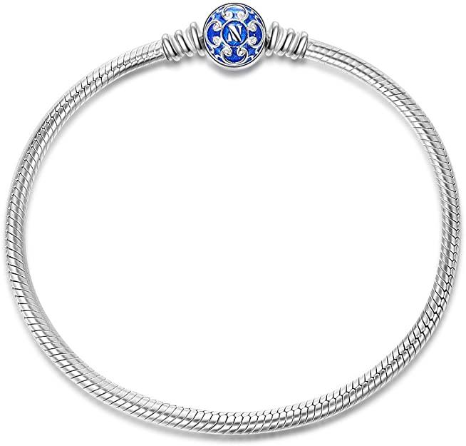 Pandora Silver 3mm Caprice Snake Bracelet With 2 Stoppers