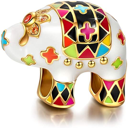 Pandora Silver Animal Elephant Bead