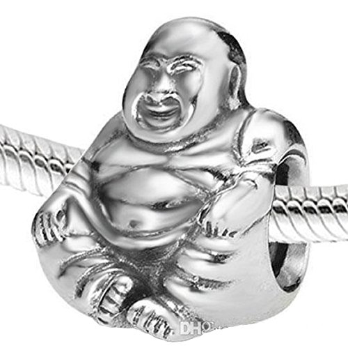 pandora buddha charm