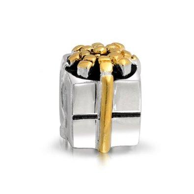 Pandora Silver Gift Box Bead