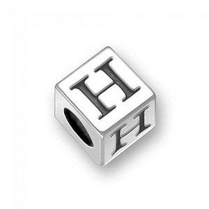 Pandora silver letter h charm for Letter h pandora charm