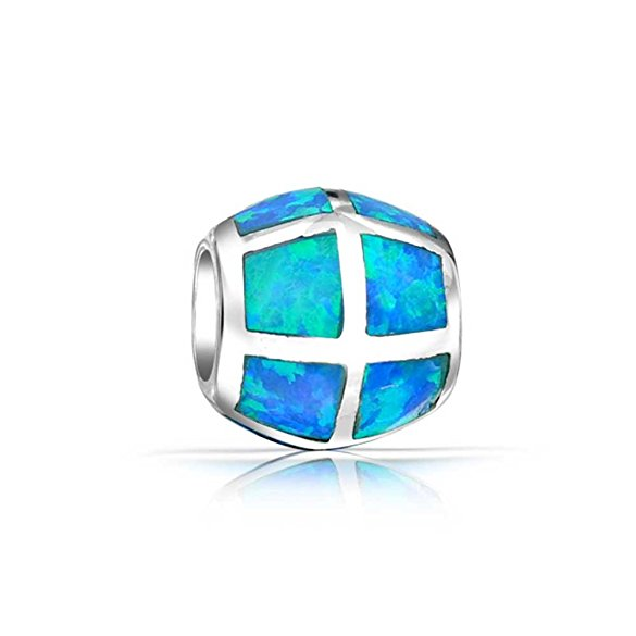 pandora silver and opal october birthstone charm
