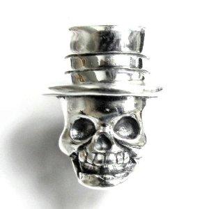 Pandora Skull With Hat Charm