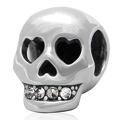 Pandora Skull With Teeth Charm