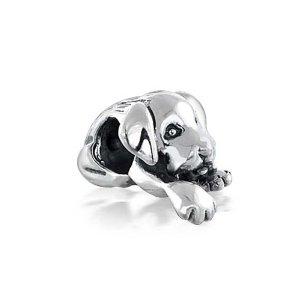 Pandora Sleeping Dog Bead