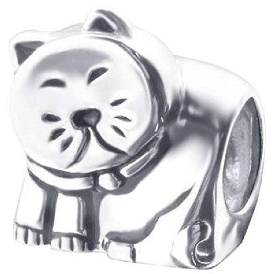 Pandora Sleepy Cat Charm