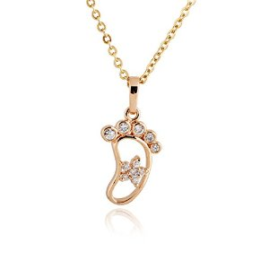 Pandora Small Bare Foot Necklace Charm