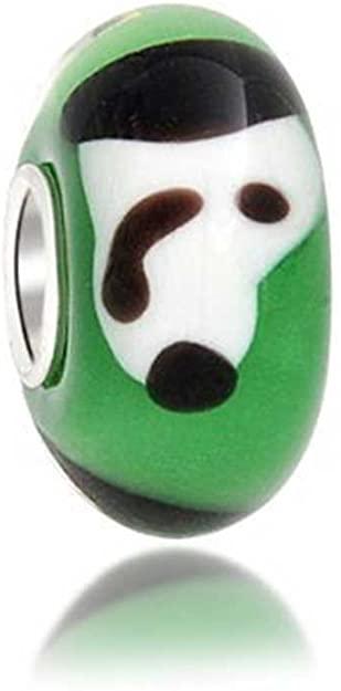 Pandora Snoopy Dog Glass Charm