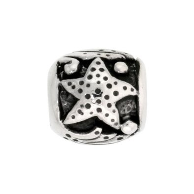 Pandora Starfish on Stone Charm