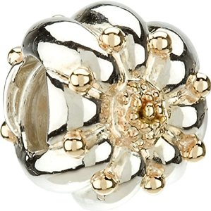 Pandora Sunflower Crystal Charm